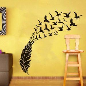 Декорация на дома със стикери за стена: Нищо по-лесно от това! 1