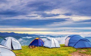 палатка за къмпингуване